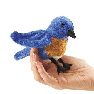 Folkmanis Mini Hüttensänger-Vogel