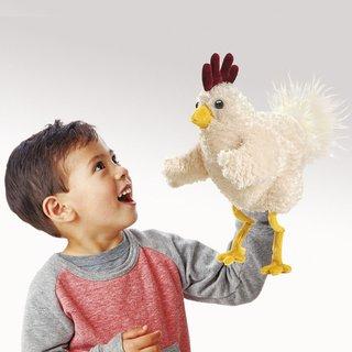 Folkmanis Lustiges Huhn
