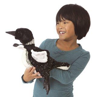 Folkmanis Seetaucher Vogel