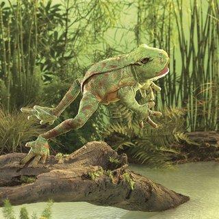 Folkmanis Hüpfender Frosch