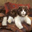 Folkmanis Katze wuschelig