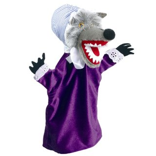 Wolf verkleidet | Handpuppen Kersa Classic