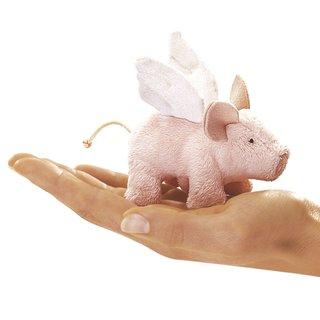 Folkmanis Mini Schwein mit Flügeln
