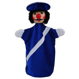 Polizist blau | Handpuppen Kersa Beni