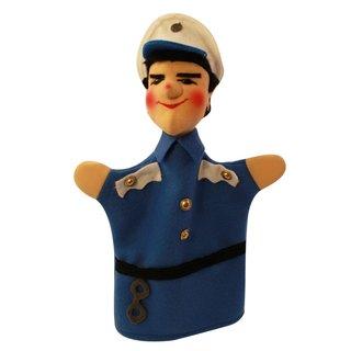 Polizist Bepo blau | Handpuppen Kersa Classic