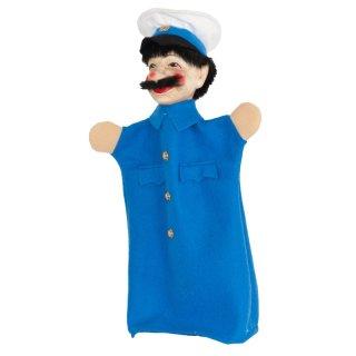 Polizist blau   Handpuppen Kersa Micha